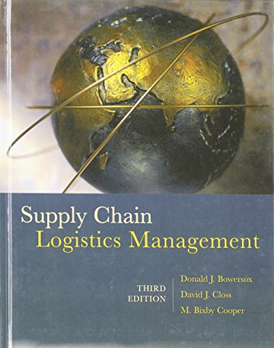 9780073377872: Supply Chain Logistics Management