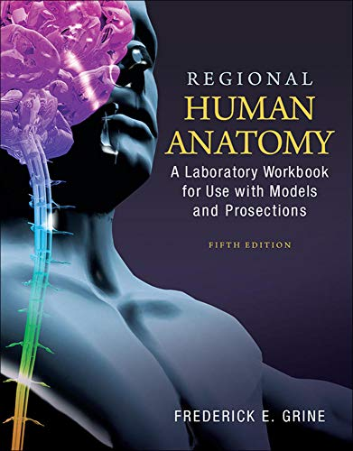 9780073378282: Regional Human Anatomy: A Laboratory Workbook for Use With Models and Prosections