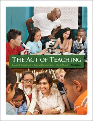 9780073378398: The Act of Teaching