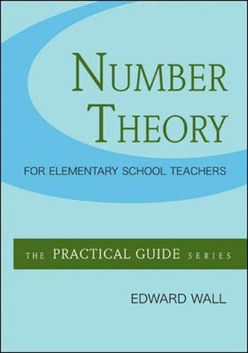 9780073378473: Number Theory for Elementary School Teachers