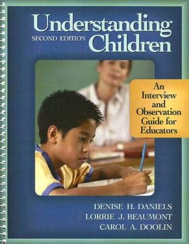 9780073378572: Understanding Children: An Interview and Observation Guide for Educators