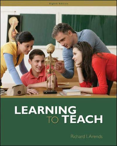 Learning to Teach: Richard Arends