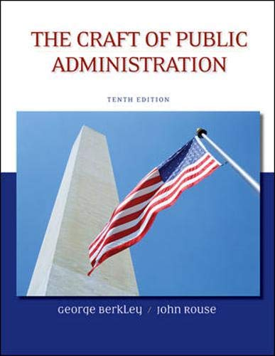9780073378954: The Craft of Public Administration