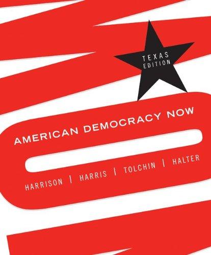 9780073378978: American Democracy Now- Texas Edition