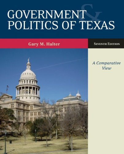 9780073378985: Government and Politics of Texas