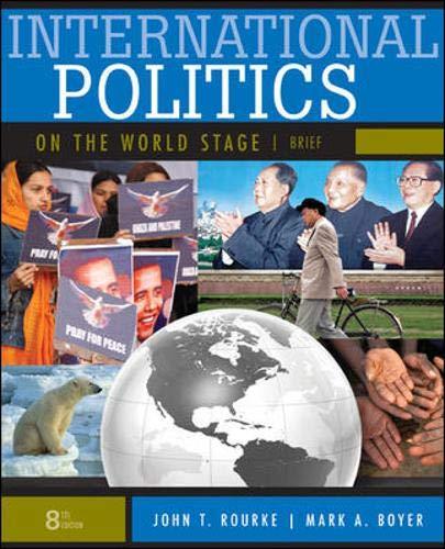 International politics on the world stage, brief: political.