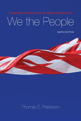 9780073379067: We The People