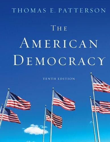 9780073379098: The American Democracy