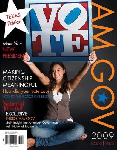 9780073379104: AM GOV 2009 Texas Edition
