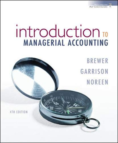 managerial accounting edition 12 garrison noreen brewer Introduction to managerial accounting 7th edition test bank by peter brewer, ray garrison, eric noreen 1-3 12 depreciation on office equipment would be included in product costs.