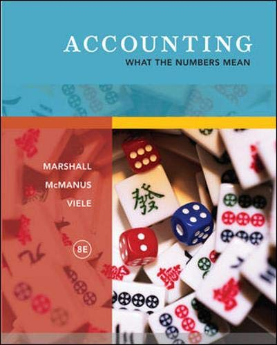 9780073379418: Accounting: What the Numbers Mean