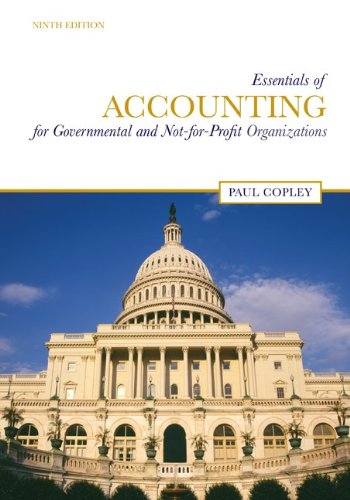 9780073379425: Essentials of Accounting for Governmental and Not-for-Profit Organizations