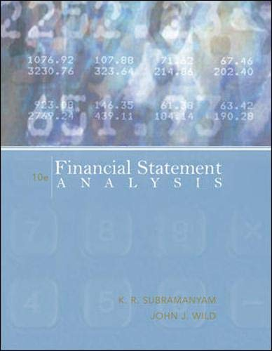 9780073379432: Financial Statement Analysis