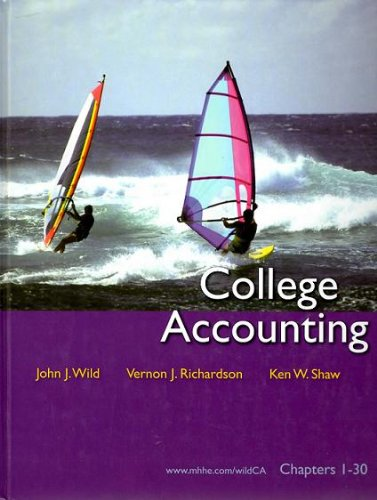 9780073379449: College Acctg Chapters 1-30