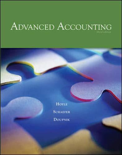 9780073379456: Advanced Accounting