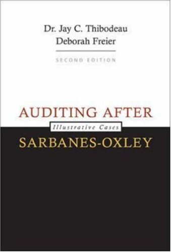 9780073379494: Auditing After Sarbanes-Oxley