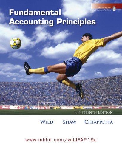 9780073379548: Fundamental Accounting Principles