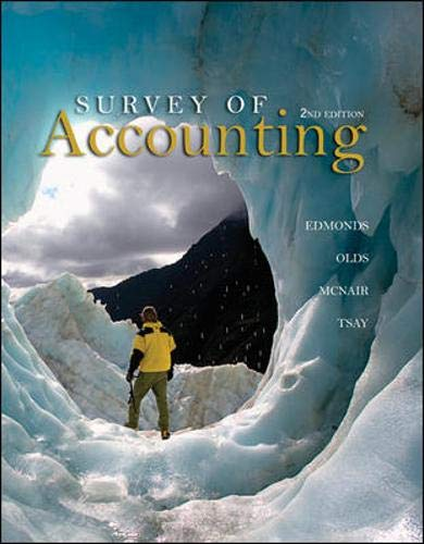 9780073379555: Survey of Accounting