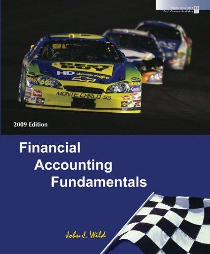 9780073379579: Financial Accounting Fundamentals 2009 Edition
