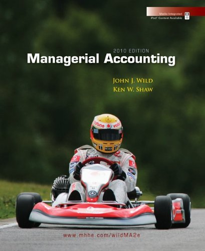 9780073379586: Managerial Accounting 2010 Edition