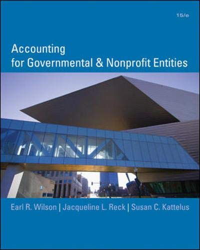 9780073379609: Accounting for Governmental and Nonprofit Entities
