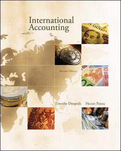 9780073379623: International Accounting