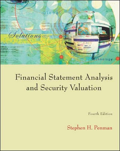 9780073379661: Financial Statement Analysis and Security Valuation