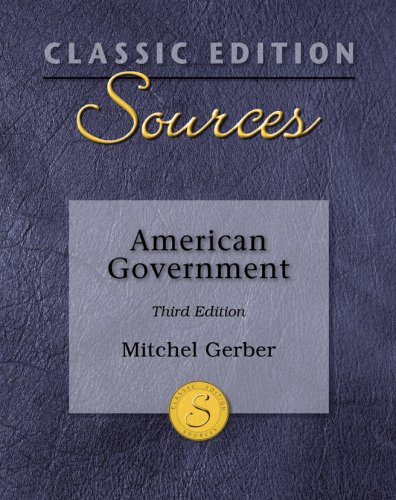 9780073379838: Classic Edition Sources: American Government