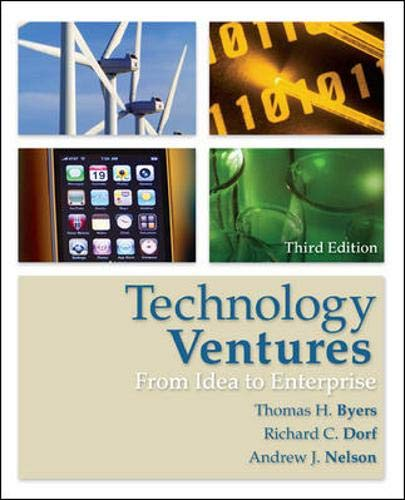 9780073380186: Technology Ventures: From Idea to Enterprise