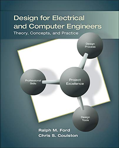 9780073380353: Design for Electrical and Computer Engineers (Irwin Electronics & Computer Enginering)