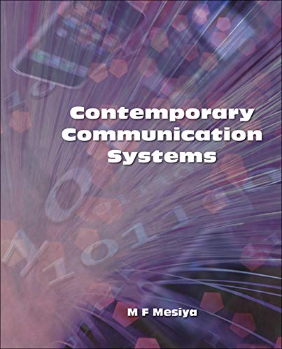 9780073380360: Contemporary Communication Systems (Irwin Electronics & Computer Enginering)