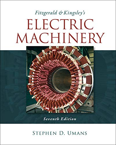 9780073380469: Fitzgerald & Kingsley's Electric Machinery