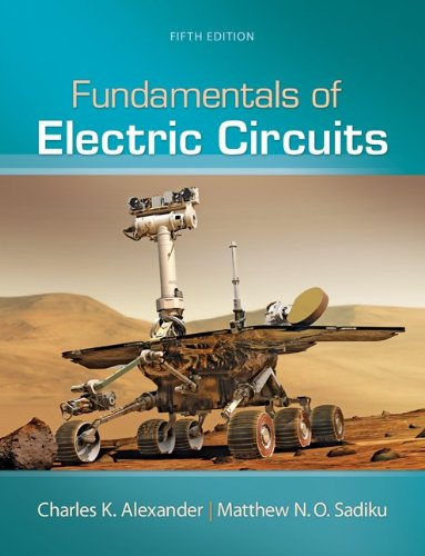 Fundamentals of Electric Circuits (9780073380575) by Charles Alexander; Matthew Sadiku