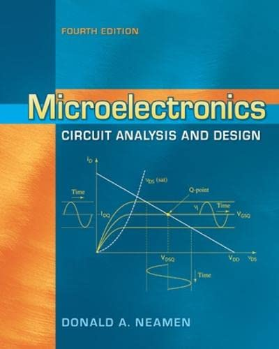Microelectronics Circuit Analysis and Design Format: Hardcover: NEAMEN