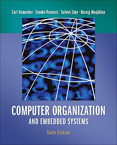 9780073380650: Computer Organization and Embedded Systems