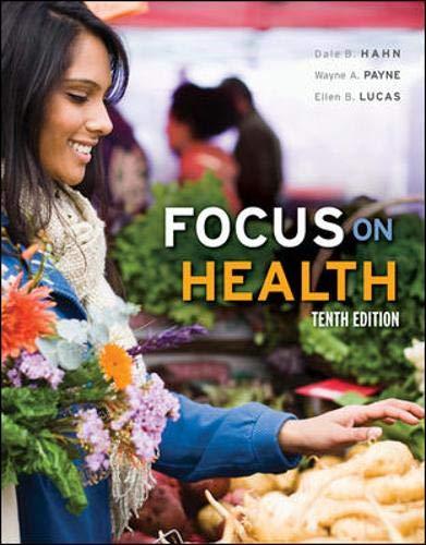 Focus on Health: Hahn, Dale, Payne,