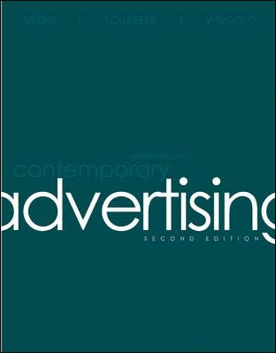 9780073380971: Essentials of Contemporary Advertising
