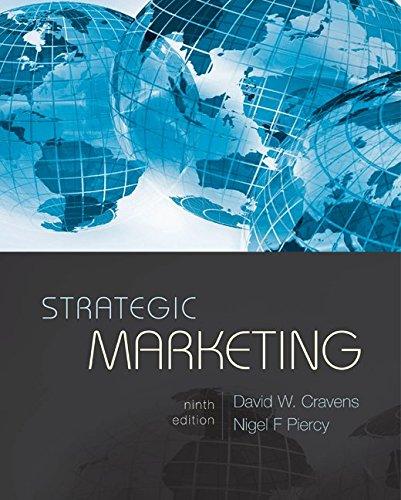 9780073381008: Strategic Marketing (MCGRAW HILL/IRWIN SERIES IN MARKETING)