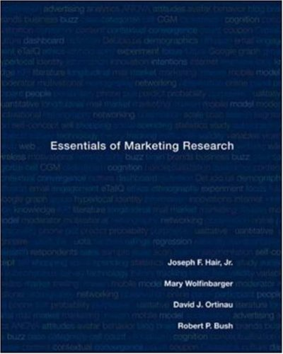 Essentials of Marketing Research: Jr., Joseph F.