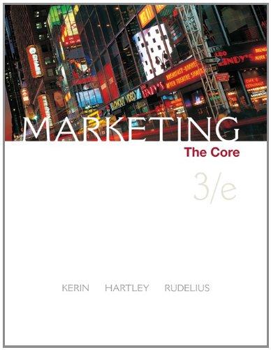 9780073381060: Marketing: The Core
