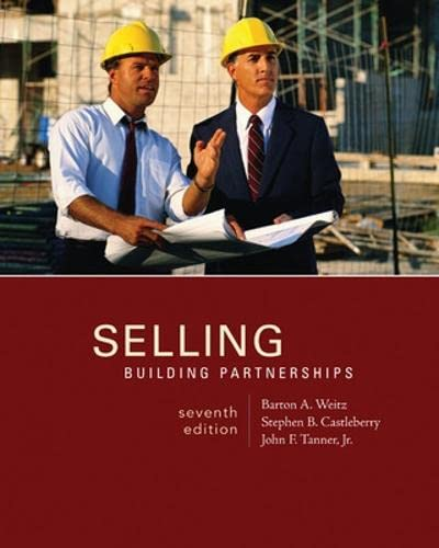 Selling : Building Partnerships: Stephen B. Castleberry;