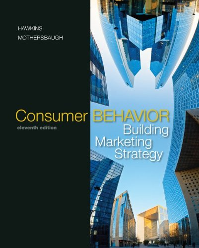 9780073381107: Consumer Behavior: Building Marketing Strategy