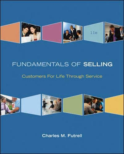 9780073381121: Fundamentals of Selling