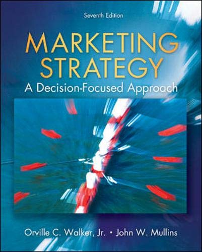9780073381152: Marketing Strategy: A Decision Focused Approach