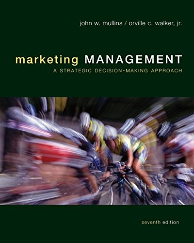 9780073381169: Marketing Management: A Strategic Decision-Making Approach