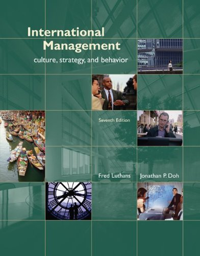 9780073381190: International Management: Culture, Strategy, and Behavior