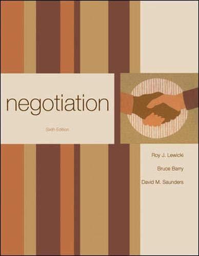 9780073381206: Negotiation
