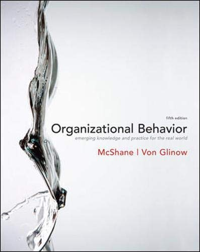 9780073381237: Organizational Behavior