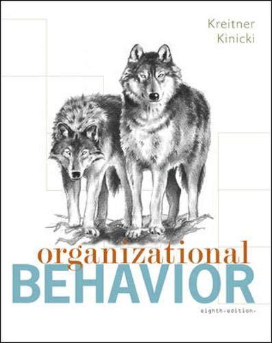 9780073381251: Organizational Behavior