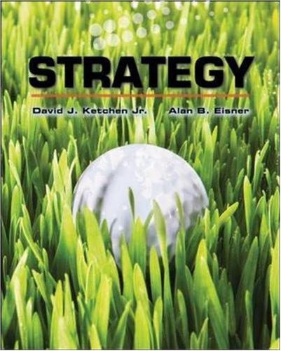 Strategy, 2008-2009: Dave Ketchen